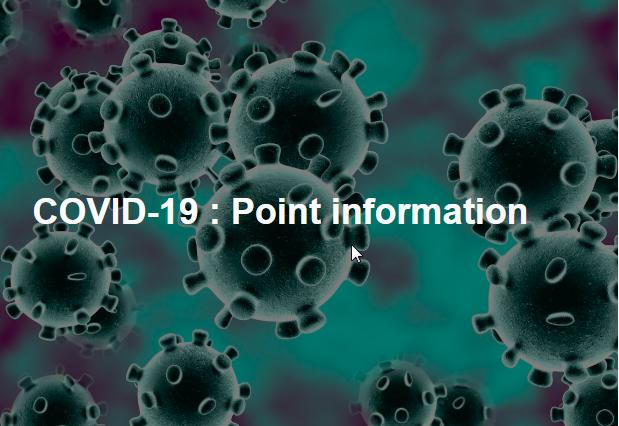 Suivez l'actualité de votre office de tourisme momentanément fermé en raison de l'épidémie de COVID-19. Nous vous tenons informés via cet article qui sera édité au jour le jour selon l'évolution de la situation.