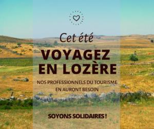 Mot de soutien aux professionnels du tourisme durement touchés en cette période de confinement.